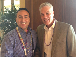 Stephen With Brad Smith CEO of Intuit